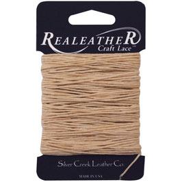 Realeather Crafts-Waxed Thread/Gewachster Faden-Tan