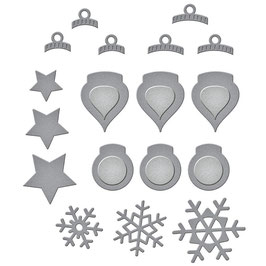 Spellbinders Stanzform-Holiday Decorations
