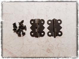 Scharniere - Vintage Bronce klein 357