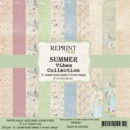 Reprint-Summer Vibes Collection 8x8""