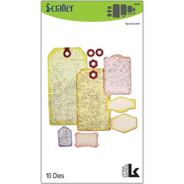 i-crafter Stanzform-Tags & Labels