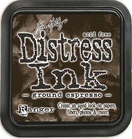 Distress Ink-ground espresso