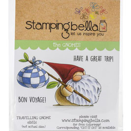 Stamping Bella-Cling Stamp/Traveling Gnome