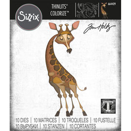 Sizzix by Tim Holtz Thinlits-Stanzform/Gertrude Colorize