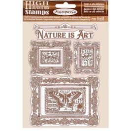 Stamperia-Stempel/Atelier Des Arts-Nature Is Art Frames WTKCC200