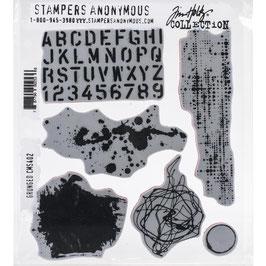 Tim Holtz Stempel Set-Grunged/CMS402