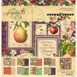 Scrapbooking-Graphic 45/Fruit & Flora (1) 12x12""
