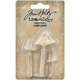 Idea-Ology by Tim Holtz/Resin Toadstools-Champignons