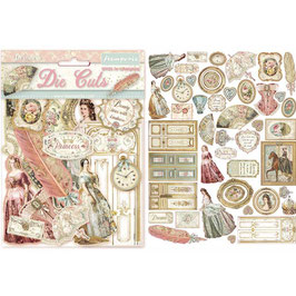 Stamperia-Die Cuts Princess