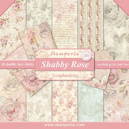 Stamperia-Scrapbooking Papier/Shabby Rose 12x12""
