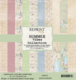 Reprint-Summer Vibes Collection 12x12""