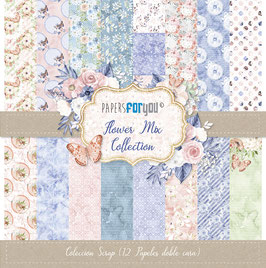 Papers for you-Flower Mix 12x12""