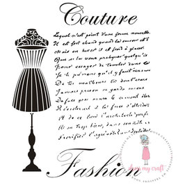 Dress my Craft-Stencil/Couture Fashion