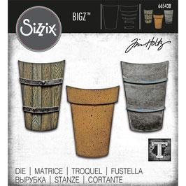 Sizzix by Tim Holtz Bigz-Stanzform/Potted #2