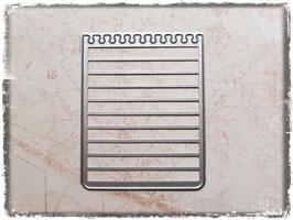 Stanzform-Notizpapier 1010