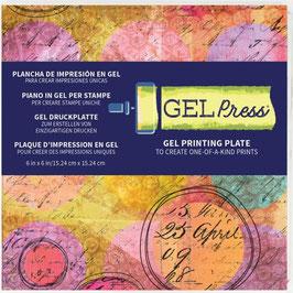 "Gel Press-Gel Plate 6x6"""