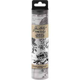 Idea ology by Tim Holtz-Collage Paper/Botanical