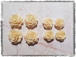 Harzblumen - creme