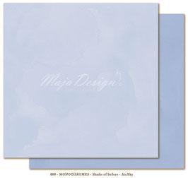 "Maja Design - Shades of Sofiero - Mono Air Sky - 12x12"""