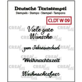 """Crealies-Clear Stamps """"Weihnachten 09"""""""