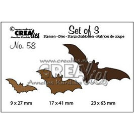 Crealies Stanzform-no.58 Bats