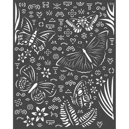 Stamperia-Stencil/Amazonia-Butterflies KSTD064