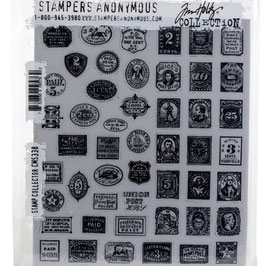 Stampers Anonymous by Tim Holtz-Stempel/Stamp Collector