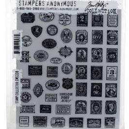 Tim Holtz Stempel Set-Stamp Collector