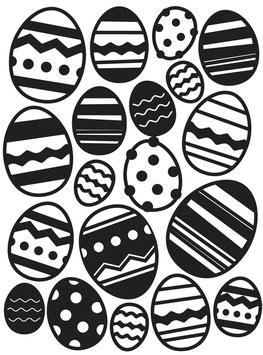Darice-Prägeschablone/Easter Egg