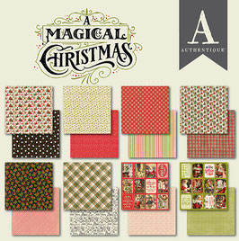 Authentique-Paper Pad/A Magical Christmas 6x6""