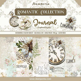 """Stamperia-Romantic Collection-Journal 12x12"""""""