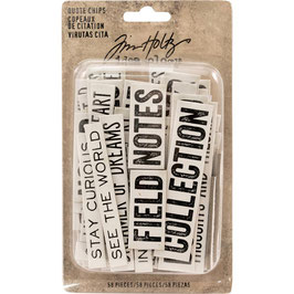 Idea-Ology by Tim Holtz/Quote Chips