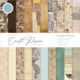 """Craft Consortium-Paper Pad/Vintage Emporium 6x6"""""""