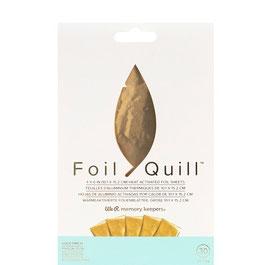 "We R-Foil Quill Folienblätter 4x6""/Gold"