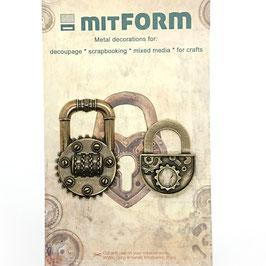 Mitform-Metall Charms/Padlocks 1