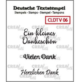 """Crealies-Clear Stamps """"Verschiedene 06"""""""