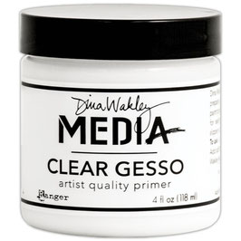 Ranger by Dina Wakley-Clear Gesso/Dose 118ml