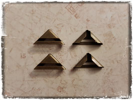 Buchecken - Vintage bronce - klein 306