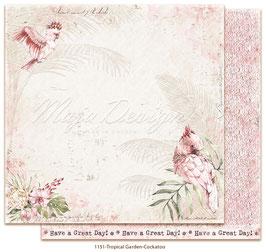 Maja Design-Tropical Garden-Cockatoo