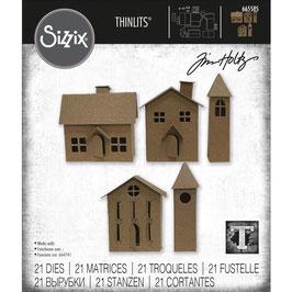 Sizzix by Tim Holtz Thinlits-Stanzform/Paper Village #2