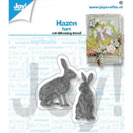 Joycrafts Stanzform-Hare/Hasen