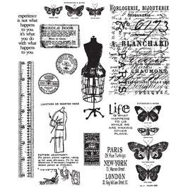Tim Holtz Stempel Set-Attic Treasures