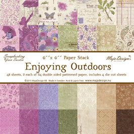 Maja Design-Paper Pad Enjoying Outdoors 6x6""