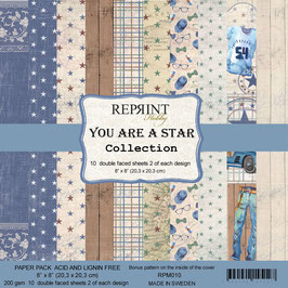 """Reprint-You Are A Star Collection 8x8"""""""