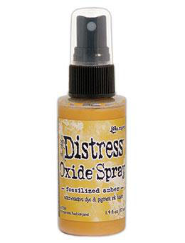 Distress Oxide Spray-fossilized amber