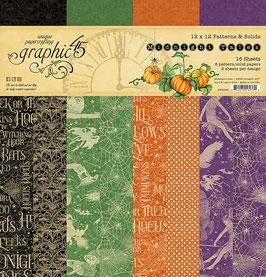 """Graphic 45-Paper Pad Midnight Tales 12x12"""""""