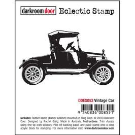 Darkroom Door-Eclectic Cling Stamp/Vintage Car
