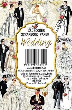 Decorer-Ephemera Karten/Wedding