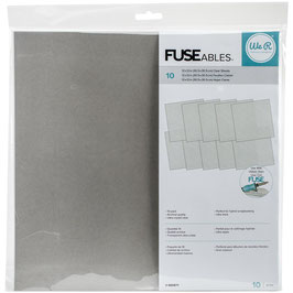We R Memory Keepers-Fuse Clear Sheets/12X12""