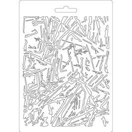 Stamperia-Soft Mould A5-Glass Effect K3PTA559